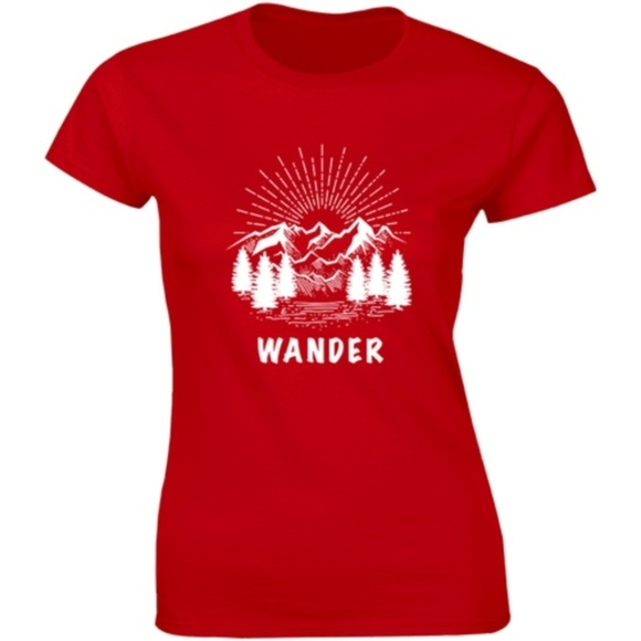 Half It Tops - Wander Woman The Soul Of A Witch The Heart T-shirt